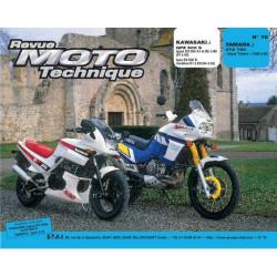 REVUE MOTO TECHNIQUE YAMAHA XTZ 750 SUPER TENERE de 1989 à 1996 - RMT 76 Librairie Automobile SPE 9782726891155