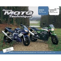REVUE MOTO TECHNIQUE YAMAHA YZF R6 de 1999 et 2000 - RMT 116 Librairie Automobile SPE 9782726891667