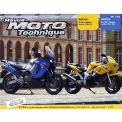 REVUE MOTO TECHNIQUE HONDA XL 1000 VADERO de 1999 à 2001 - RMT 118