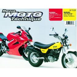 REVUE MOTO TECHNIQUE SUZUKI 125 VANVAN de 2003 et 2004 - RMT 133 Librairie Automobile SPE 9782726892336