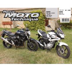 REVUE MOTO TECHNIQUE HONDA CBF 125 de 2009 et 2010 - RMT 158 Librairie Automobile SPE 9782726892596