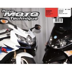 REVUE MOTO TECHNIQUE PIAGGIO X-EVO 125 de 2007 à 2010 - RMT 160 Librairie Automobile SPE 9782726892619