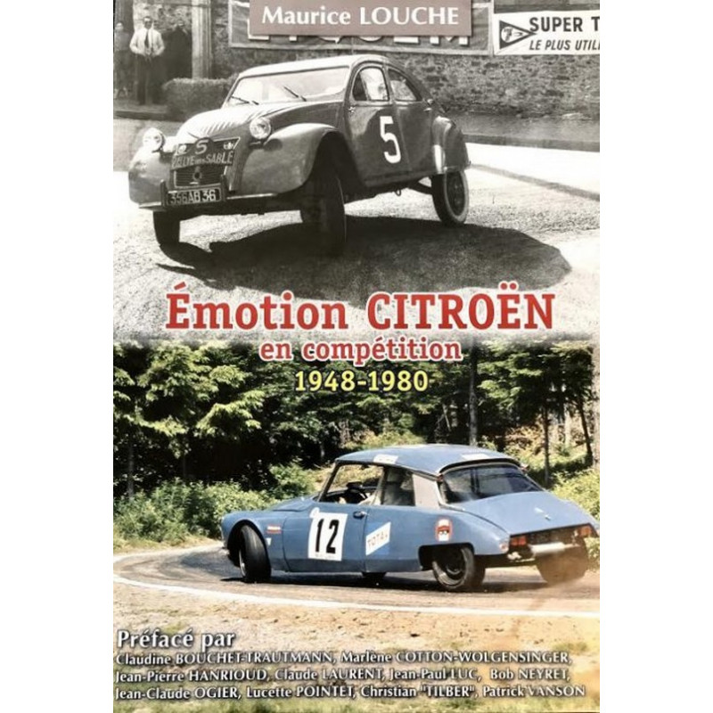ÉMOTION CITROËN 1948-1980 en COMPÉTITION