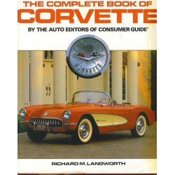 THE COMPLETE BOOK OF CORVETTE / R.LANGWORTH / Edition HAYNES-9780854296378