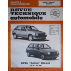 REVUE TECHNIQUE AUTOMOBILE OPEL CORSA DIESEL 1.5