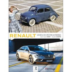 RENAULT UN SIÈCLE DE CRÉATION AUTOMOBILE 2017 Librairie Automobile SPE 9791028302153