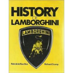 HISTORY OF LAMBORGHINI Librairie Automobile SPE 9780851840154