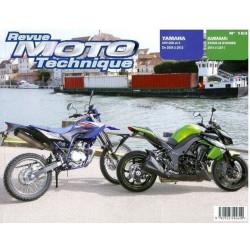 REVUE MOTO TECHNIQUE YAMAHA WR 125 de 2009 à 2012 - RMT 163 Librairie Automobile SPE 9782726892640