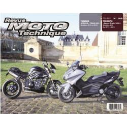 REVUE MOTO TECHNIQUE YAMAHA XP 500 et TMAX 530 de 2012 et 2013 - RMT 168 Librairie Automobile SPE 9782726892695