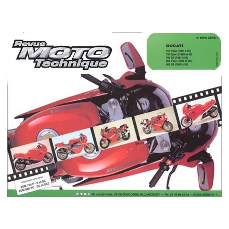 REVUE MOTO TECHNIQUE DUCATI 750 de 1987 à 1993 - RMT HS07 Librairie Automobile SPE 9782726895061
