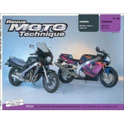 REVUE MOTO TECHNIQUE HONDA NT 650 REVERE de 1988 à 1997 - RMT 92 Librairie Automobile SPE 9782726890875