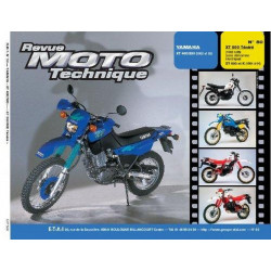 REVUE MOTO TECHNIQUE YAMAHA XT 600 TENERE de 1986 et 1998 - RMT 50 Librairie Automobile SPE 9782726891254