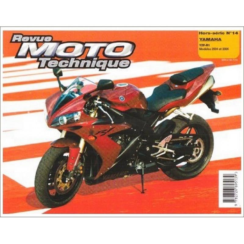 REVUE MOTO TECHNIQUE YAMAHA YZF R1 de 2004 et 2005- RMT HS14 Librairie Automobile SPE 9782726895139