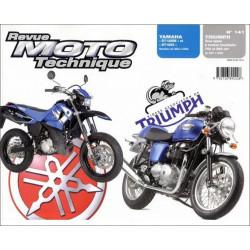 REVUE MOTO TECHNIQUE YAMAHA DT 125 de 2004 à 2006 - RMT 141 Librairie Automobile SPE 9782726892428