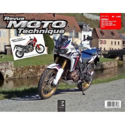 REVUE MOTO TECHNIQUE HONDA CRF 1000 Africa Twin ( 2016 ) - RMT 185 Librairie Automobile SPE 9791028306564