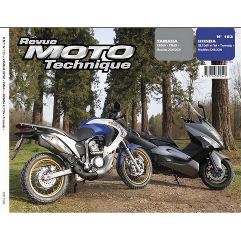 REVUE MOTO TECHNIQUE YAMAHA TMAX 500 de 2008 et 2009 - RMT 153 Librairie Automobile SPE 9782726892541