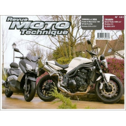 REVUE MOTO TECHNIQUE YAMAHA X-MAX et MBK SKYCRUISER 125 de 2010 et 2011 - RMT 161 Librairie Automobile SPE 9782726892626