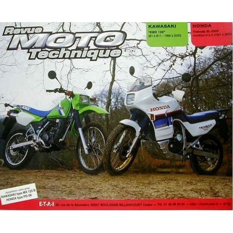 REVUE MOTO TECHNIQUE HONDA XLV 600 TRANSALP de 1987 à 2000- RMT 68 Librairie Automobile SPE 9782726891247
