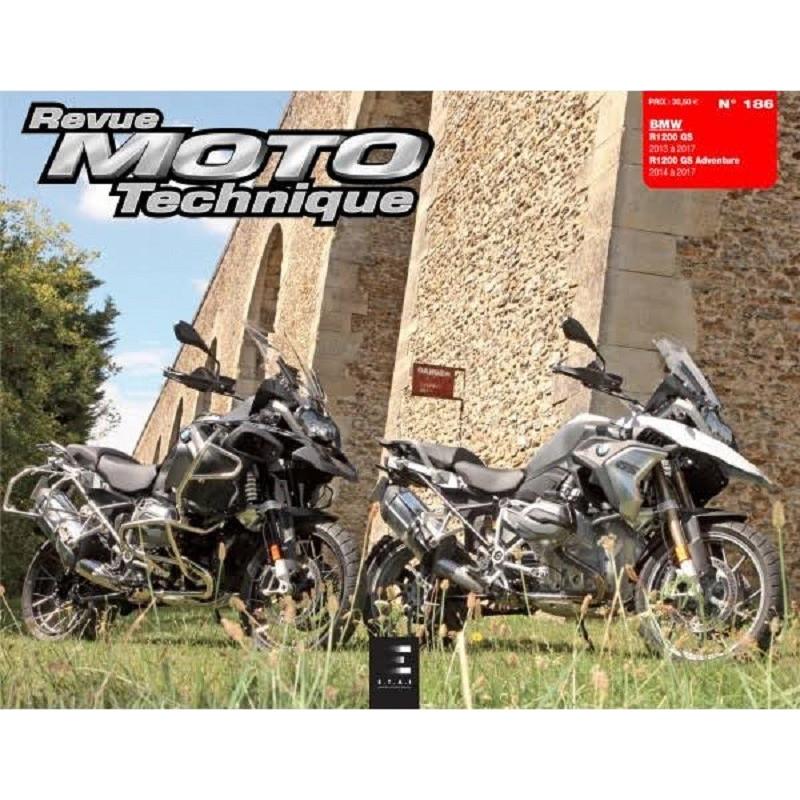 REVUE MOTO TECHNIQUE BMW R1200 GS 2013 / GS Adventure 2014-17 - RMT 186 Librairie Automobile SPE 9791028306571