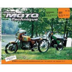 REVUE MOTO TECHNIQUE KAWASAKI 125 KS à KH de 1974 à 1985 - RMT 18