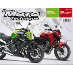 REVUE MOTO TECHNIQUE KAWASAKI ER-6 de 2012 à 2014 - RMT 172 Librairie Automobile SPE 9782726892732