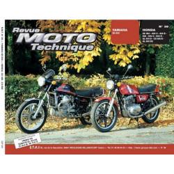 REVUE MOTO TECHNIQUE YAMAHA XS 500 - RMT 39 Librairie Automobile SPE 9782726890325