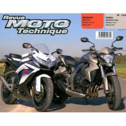 REVUE MOTO TECHNIQUE SUZUKI GSX-R 750 de 2008 à 2010 - RMT 159 Librairie Automobile SPE 9782726892602
