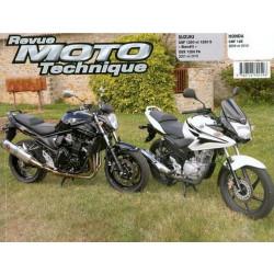 REVUE MOTO TECHNIQUE SUZUKI GSF 1250 et BANDIT 1250 de 2007 à 2010 - RMT 158