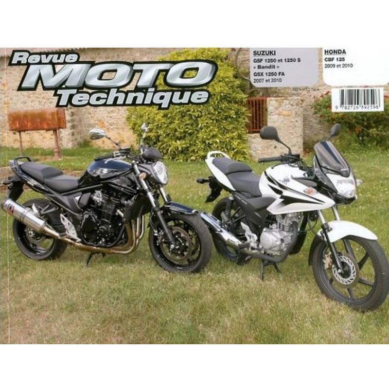 REVUE MOTO TECHNIQUE SUZUKI GSF 1250 et BANDIT 1250 de 2007 à 2010 - RMT 158 Librairie Automobile SPE 9782726892596