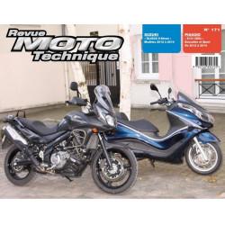 REVUE MOTO TECHNIQUE SUZUKI DL 650 V-STROM de 2012 à 2014 - RMT 171 Librairie Automobile SPE 9782726892725