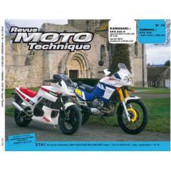 REVUE MOTO TECHNIQUE KAWASAKI GPZ 500 de 1987 à 2002 - RMT 76