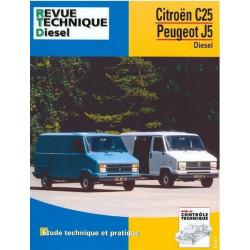 REVUE TECHNIQUE CITROEN C25 DIESEL 1981-1991 Librairie Automobile SPE 9782726812655