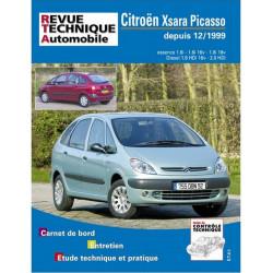 REVUE TECHNIQUE CITROEN XSARA PICASSO - RTA 105 Librairie Automobile SPE 9782726810514