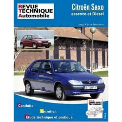 REVUE TECHNIQUE CITROEN SAXO - RTA 106 Librairie Automobile SPE 9782726810613