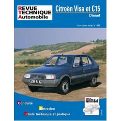 REVUE TECHNIQUE CITROEN VISA et C15 - RTA 470 Librairie Automobile SPE 9782726847053