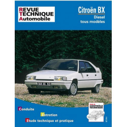 REVUE TECHNIQUE CITROEN BX DIESEL et TD -RTA 445 Librairie Automobile SPE 9782726844571