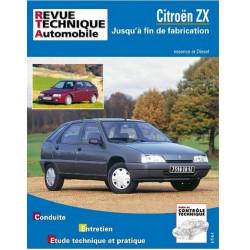REVUE TECHNIQUE CITROEN ZX ESSENCE et DIESEL RTA 109 Librairie Automobile SPE 9782726810910