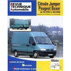REVUE TECHNIQUE CITROEN JUMPER ESSENCE et DIESEL - RTA TAP 417 Librairie Automobile SPE 3176420205039