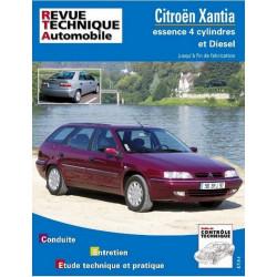 REVUE TECHNIQUE CITROEN XANTIA ESSENCE et DIESEL - RTA 108 Librairie Automobile SPE 9782726810811