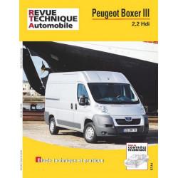 REVUE TECHNIQUE PEUGEOT BOXER III 2.2 HDI - RTA HS020 Librairie Automobile SPE 9782726828755