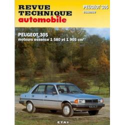 REVUE TECHNIQUE PEUGEOT 305 ESSENCE - RTA 441 Librairie Automobile SPE 9782726844151