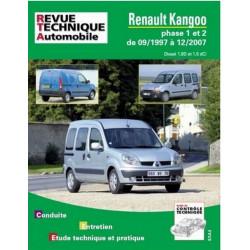 REVUE TECHNIQUE RENAULT KANGOO DIESEL - RTA 101 Librairie Automobile SPE 9782726810118