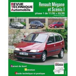 REVUE TECHNIQUE RENAULT MEGANE et SCENIC PHASE 1 - 119 Librairie Automobile SPE 9782726811917