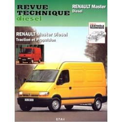 REVUE TECHNIQUE RENAULT MASTER DIESEL - RTA 113 Librairie Automobile SPE 9782726811344
