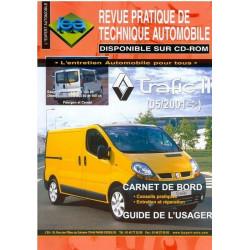 Renault Trafic II essence et diesel 05/2001 - RTA TAP 412 Librairie Automobile SPE 3176420312027