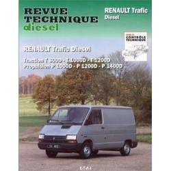 REVUE TECHNIQUE RENAULT TRAFIC DIESEL - RTA 122 Librairie Automobile SPE 9782726812259