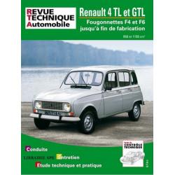 REVUE TECHNIQUE RENAULT 4 TL / GTL - RTA 388 Librairie Automobile SPE 9782726838860