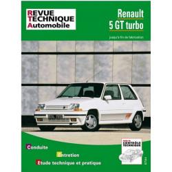 REVUE TECHNIQUE RENAULT 5 GT TURBO - RTA 464 Librairie Automobile SPE 9782726846445