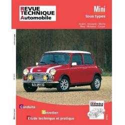 REVUE TECHNIQUE MINI TOUS TYPES - RTA 343 Librairie Automobile SPE 9782726834350