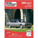 REVUE TECHNIQUE BMW SERIE 3 (E30) - RTA 448 Librairie Automobile SPE 9782726844861